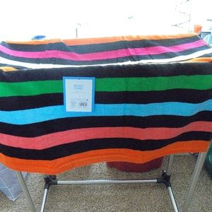 Other - Multi-Color-Striped-Beach-Towel NEW